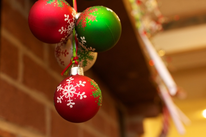 """Colorful Christmas Balls"" by Michael Bentley is licensed under CC BY 2.0"