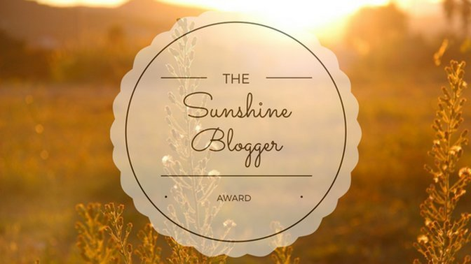 Sunshine Blogger Award (and my nominations)