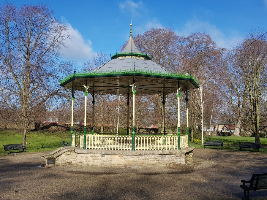 I have an idea… Hexham Bandstand
