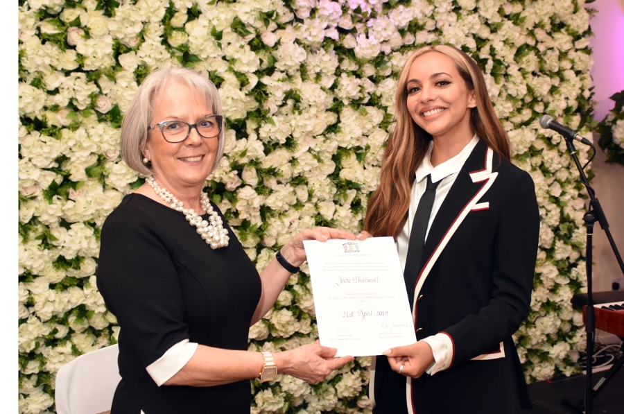 Little Mix Star Jade Receives Theatre Honour