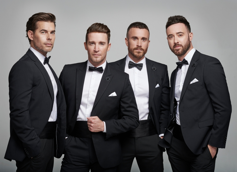 The Overtones spread festive cheer at Sage Gateshead
