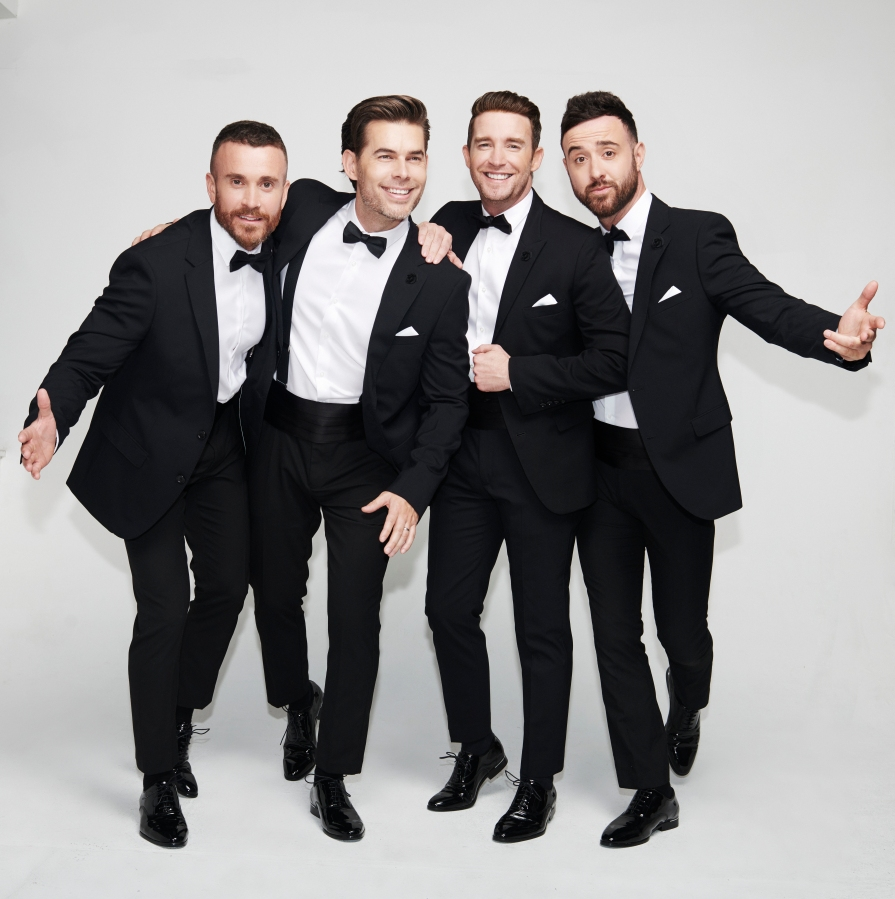Review: The Overtones at Christmas @ Sage Gateshead