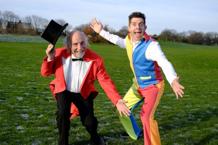CBBC  star Danny Adams given green-light to bring Cirque Du Hilarious tour back to NorthEast