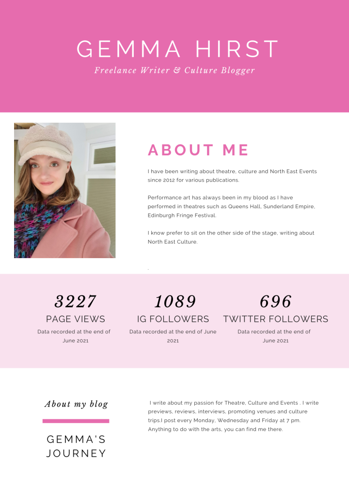 Gemma Hirst Media Kit