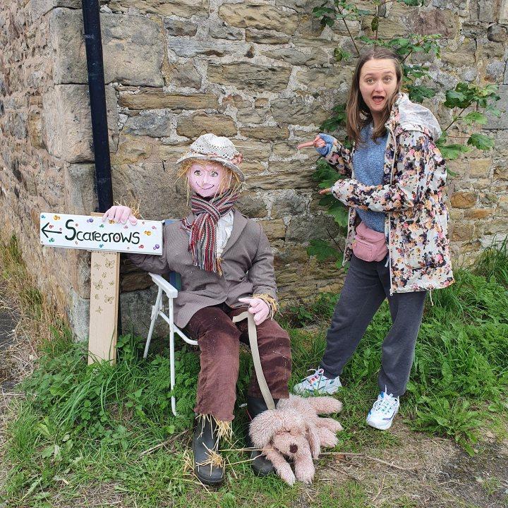 Bardon Mill Scarecrows